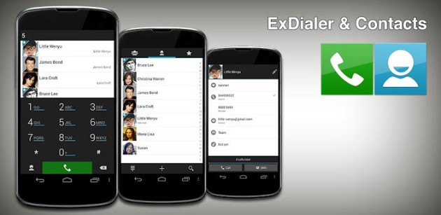 Top Best Three Android Contacts Apps for Managing your Contacts / Address Book - Image 2