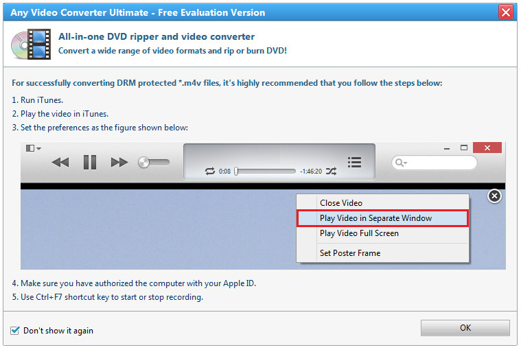 Convert iTunes DRM Protected M4V Video - Image 4