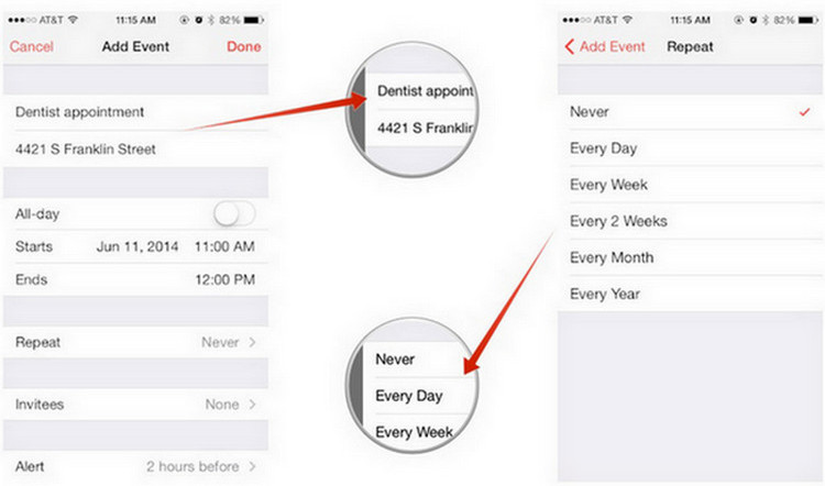 How to use calendar for iPad - Image 1