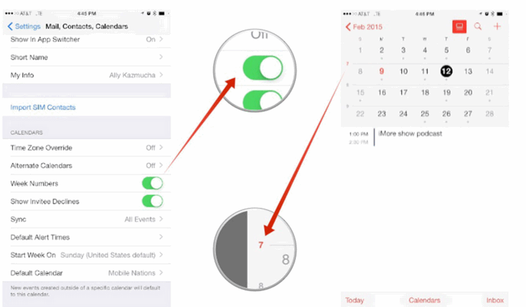How to use calendar for iPad - Image 3
