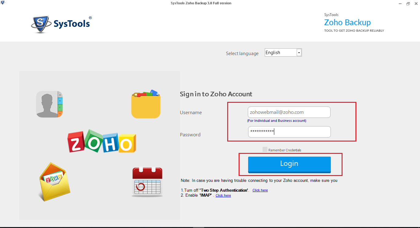 Migrate Email From Zoho To Office 365 - Zoho Mail Migration Solution - Image 1