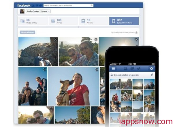 Two ways to Upload iPhone Photos to Facebook - Image 1