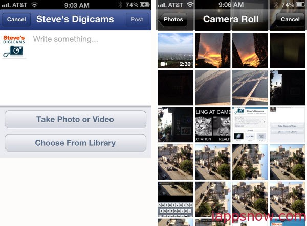 Two ways to Upload iPhone Photos to Facebook - Image 7