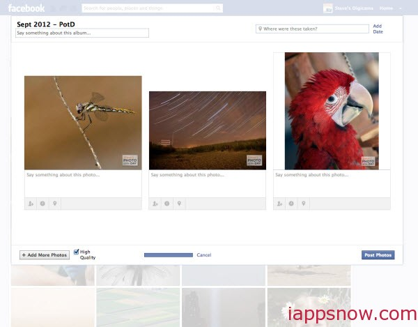 Two ways to Upload iPhone Photos to Facebook - Image 10