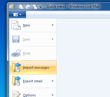 Different Ways to Import DBX File into MS Outlook (2007/2010/2013) or Office 365 - Image 1