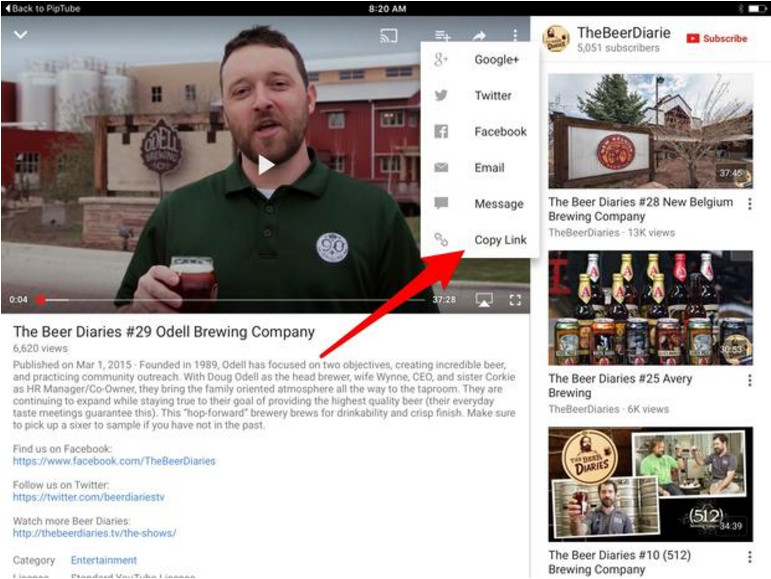 How to use iOS 9's picture-in-picture feature with YouTube - Image 1
