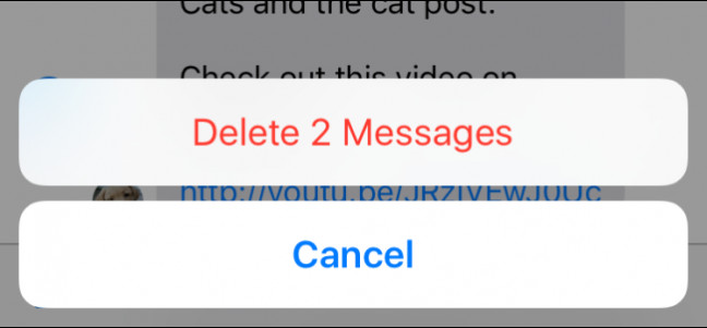 How to Delete or Forward Individual Text Messages on the iPhone - Image 1