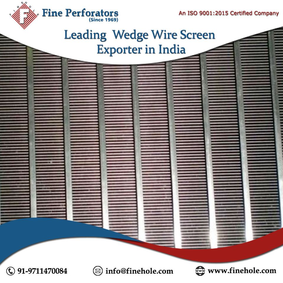 How to Choose a Wedge Wire Screen Supplier? - Image 1