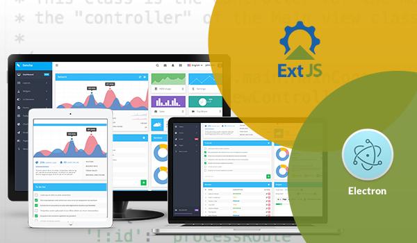 Enterprise Application Using Ext JS & Electron - Image 1