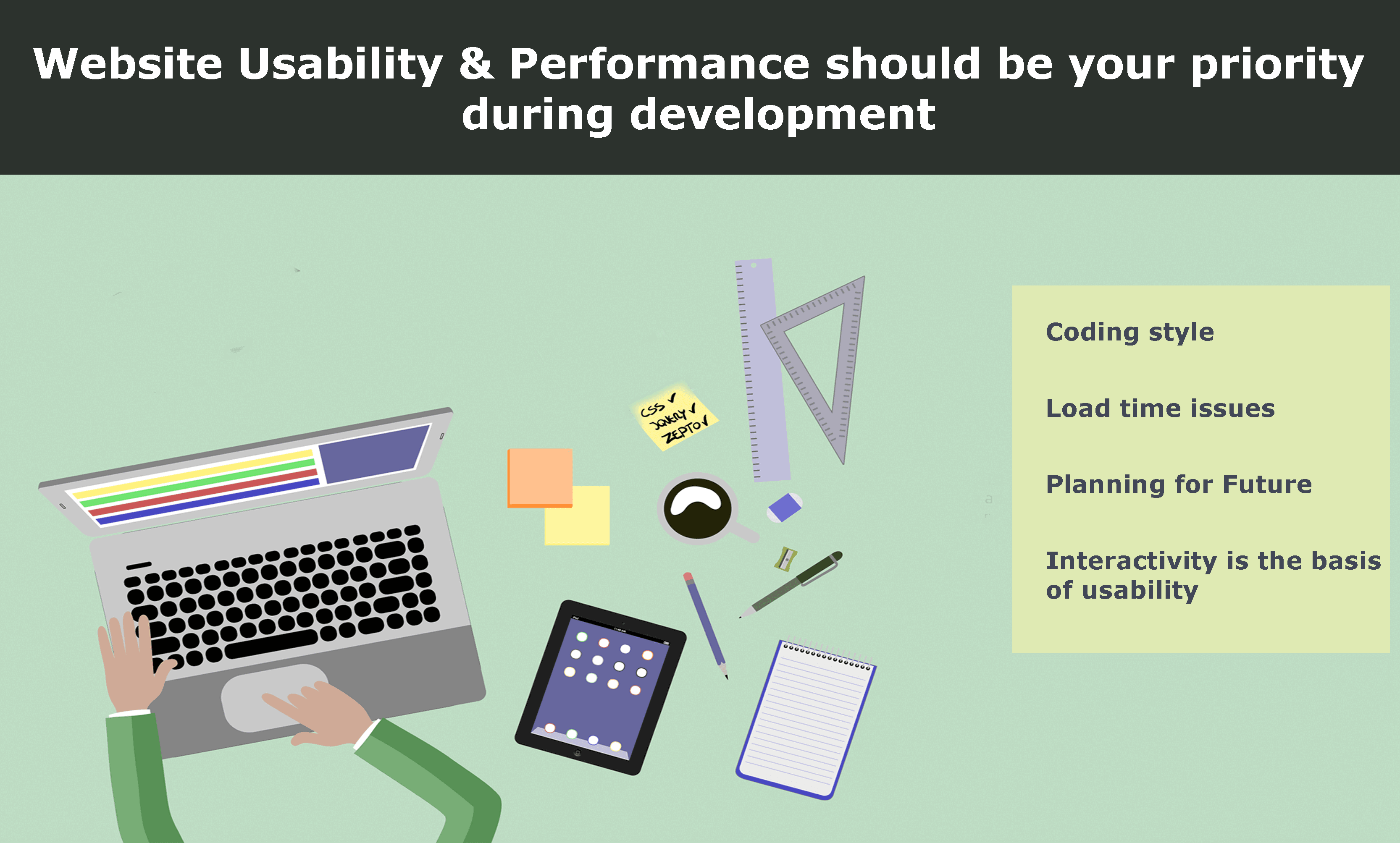 Website usability and performance should be your priority during development - Image 1