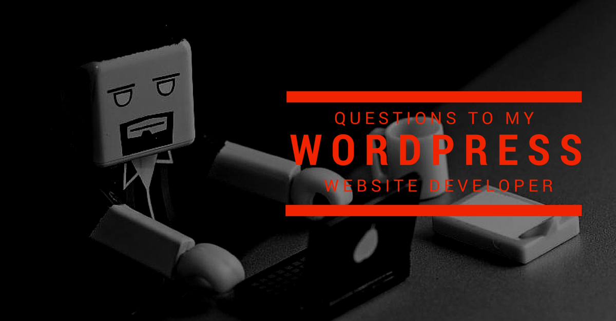 Should I ask these Questions to my WordPress Web Developer? And You Should, Too! - Image 1