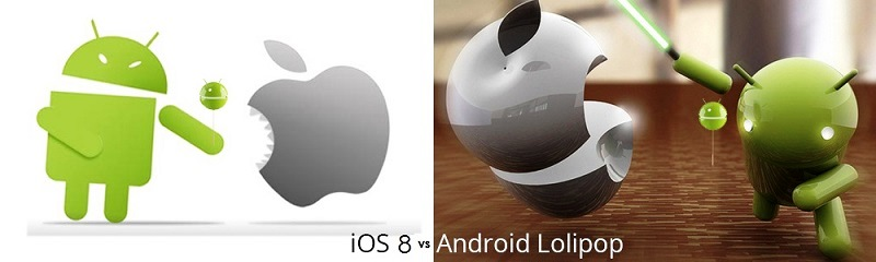 Which platform grabs your attention? Android 5.0 Lollipop or iOS 8 - Image 1
