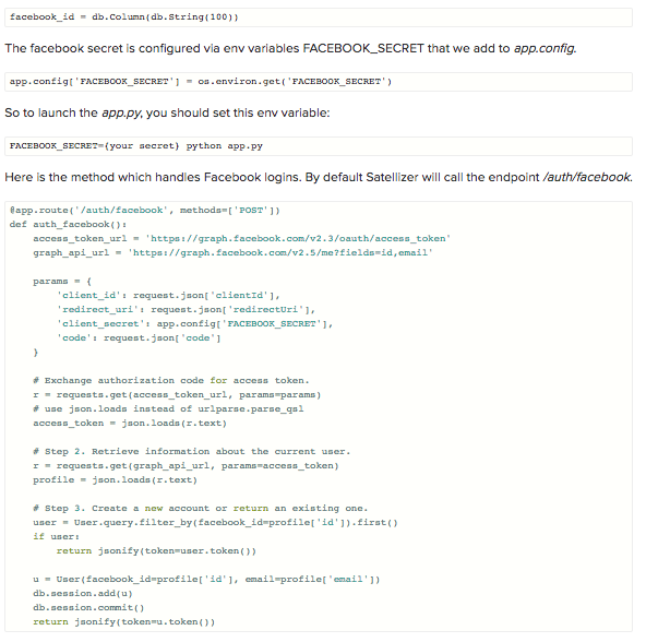 Integrating Facebook Login in AngularJS App with Satellizer - Image 13