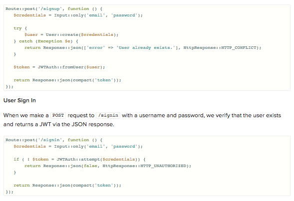 JSON Web Token Tutorial: An Example in Laravel and AngularJS - Image 9