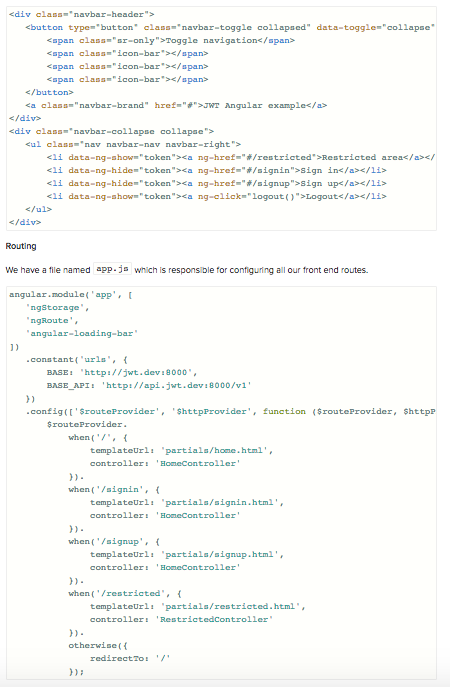 JSON Web Token Tutorial: An Example in Laravel and AngularJS - Image 13