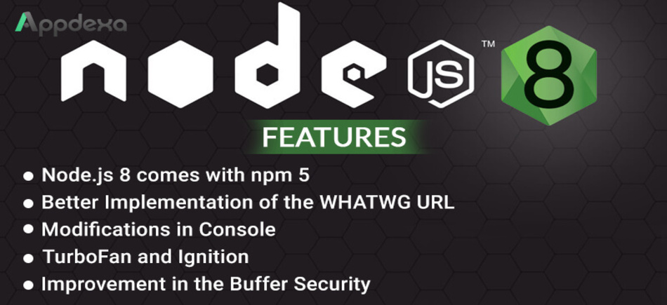 Have a Look at Node.js 8 Features for Great Scalable Network Application - Image 1