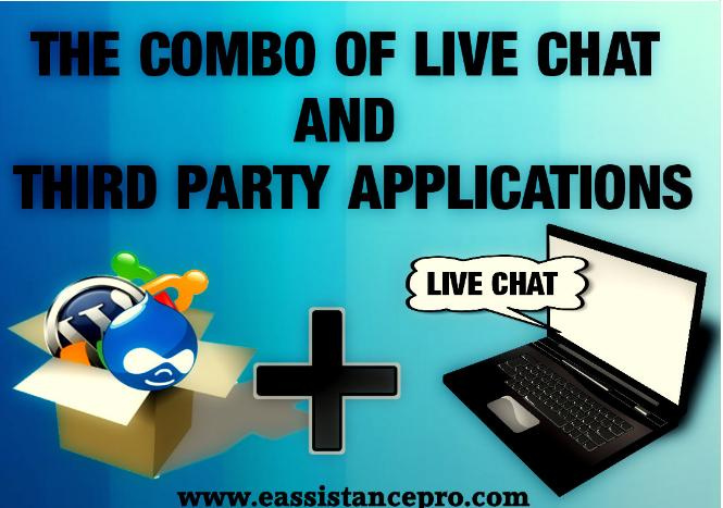 The combo of Live Chat and Thrid party applications - Image 1