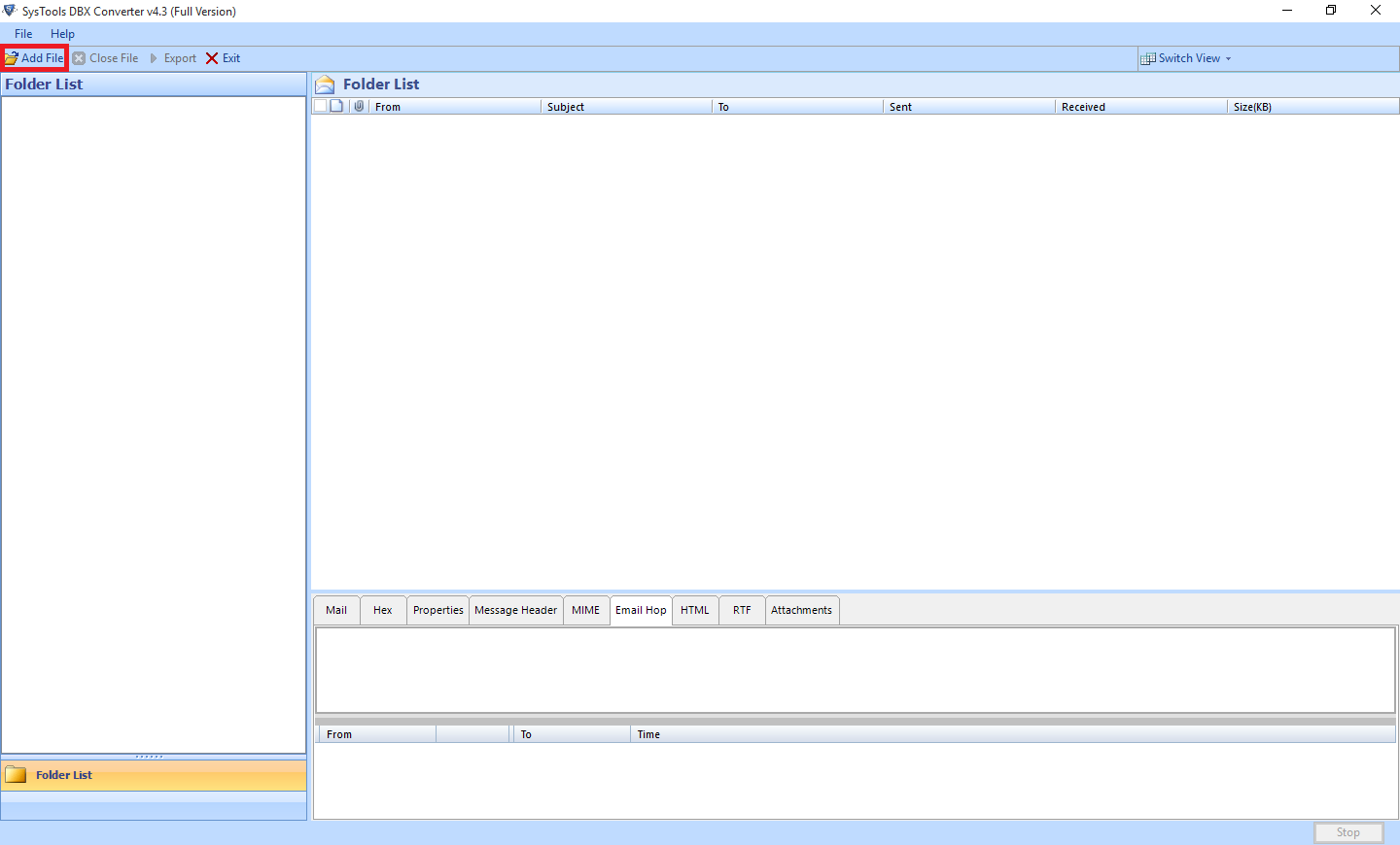 DBX to PST Converter to Access Outlook Express Files into Outlook - Image 1