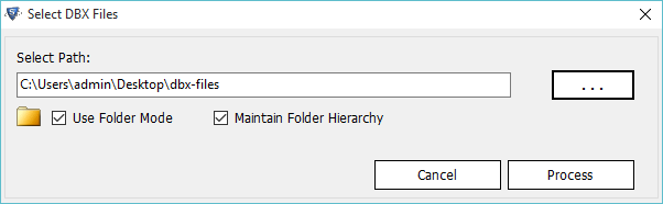 DBX to PST Converter to Access Outlook Express Files into Outlook - Image 4