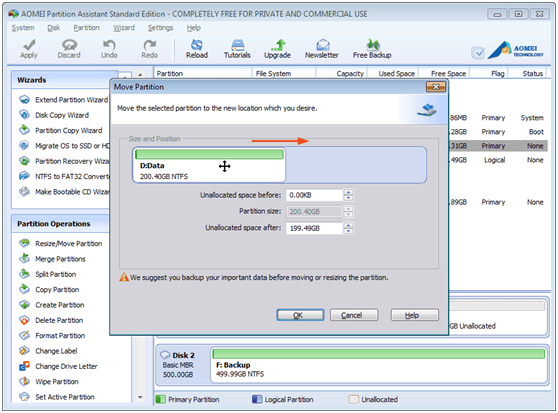 AOEMI Partition Assistant- A Free Partition Manager Which can Help You Completely Manage Your Partition - Image 3