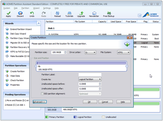 AOEMI Partition Assistant- A Free Partition Manager Which can Help You Completely Manage Your Partition - Image 7