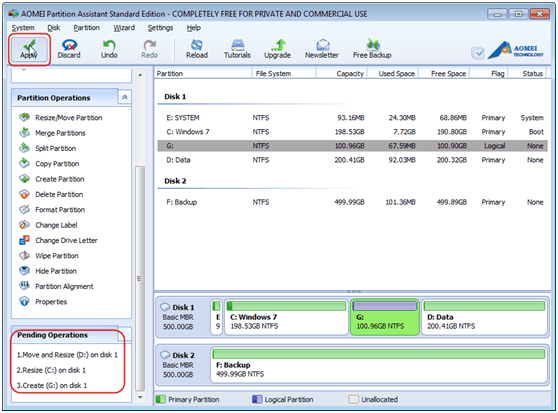 AOEMI Partition Assistant- A Free Partition Manager Which can Help You Completely Manage Your Partition - Image 8