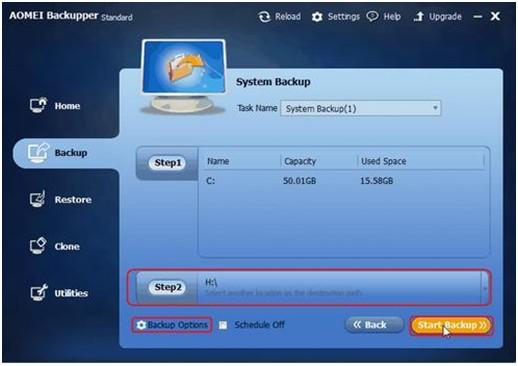 AOMEI Backupper Standard 3.2-Backup Windows 10 to External Hard Drive - Image 2