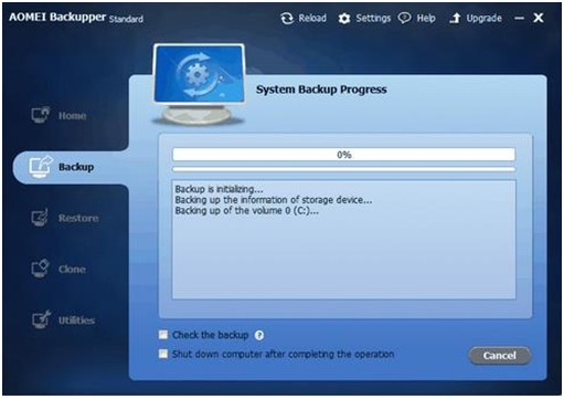 AOMEI Backupper Standard 3.2-Backup Windows 10 to External Hard Drive - Image 3
