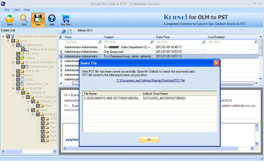 How to Import OLM Files of Mac Outlook into Windows Outlook? - Image 1