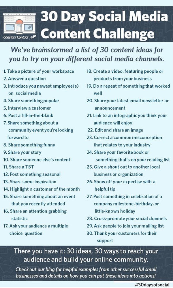 30 Spectacular Ideas for Social Media Content Your Followers Will Love - Image 1
