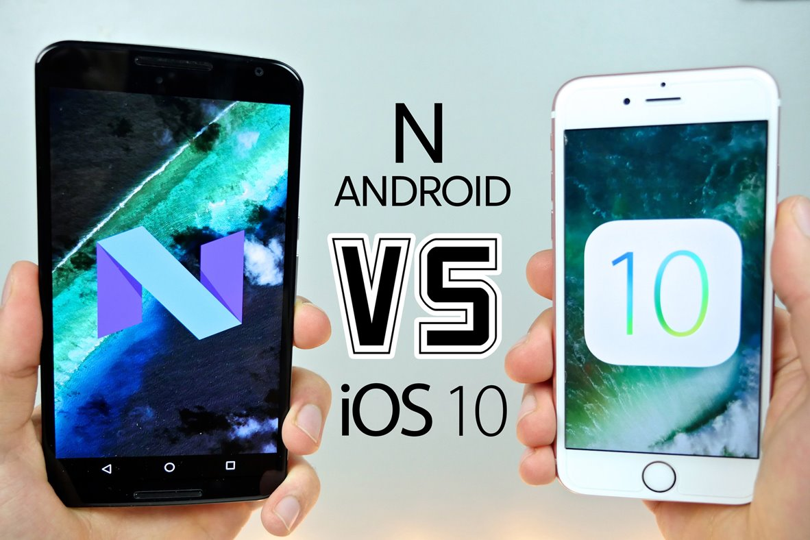 iOS 10 vs Android Nougat – Which OS Is Leading The Way? - Image 1