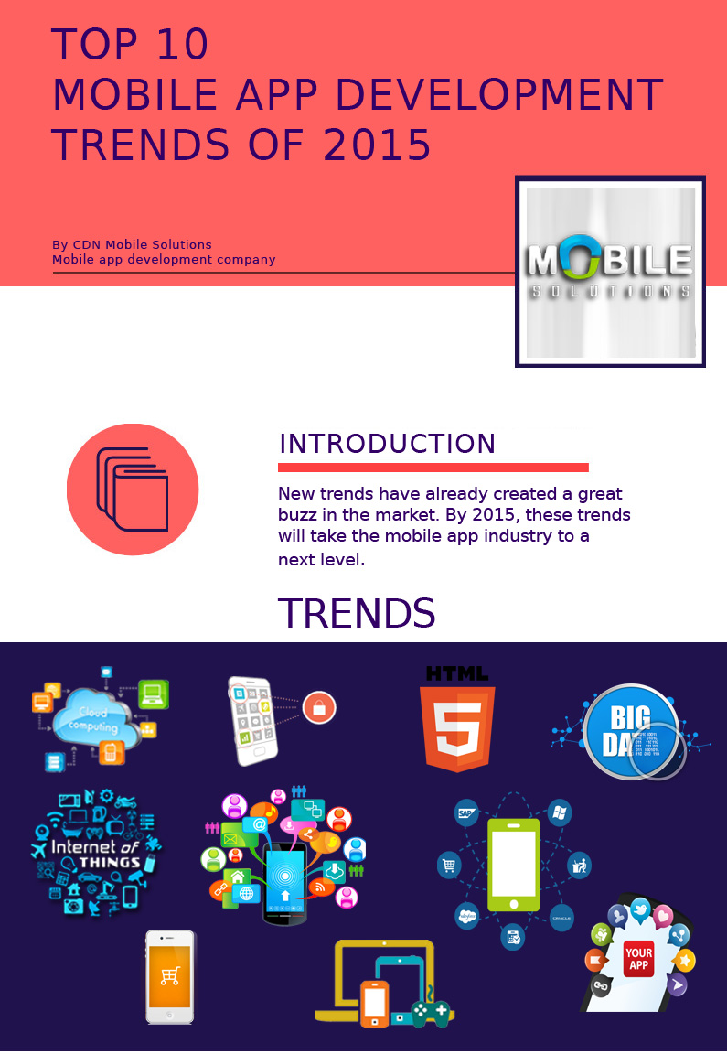 Top 10 Mobile App Development Trends in 2015 - Image 1