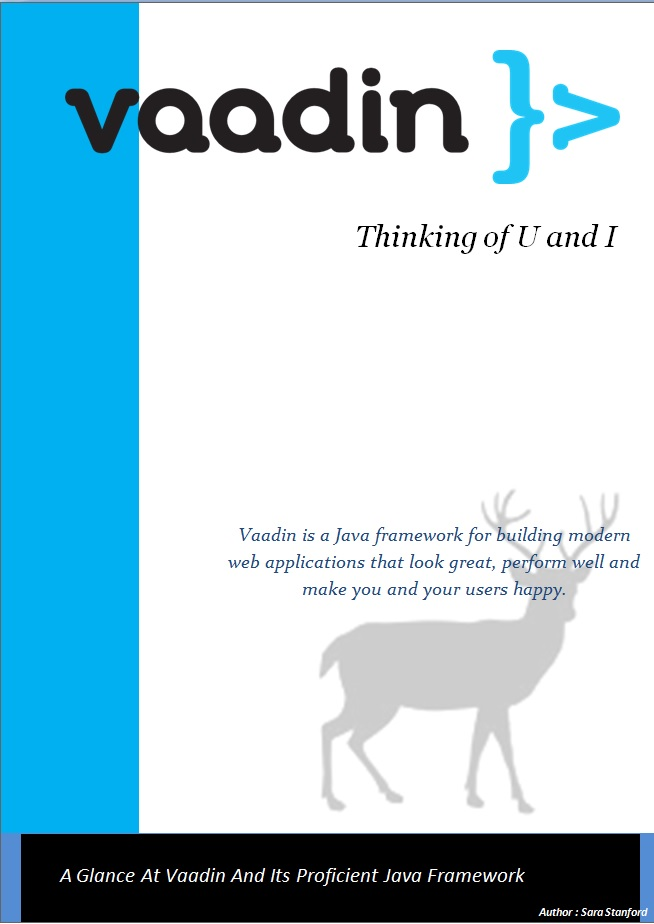 A Glance At Vaadin And Its Proficient Java Framework - Image 1
