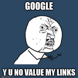 Know About Googleâ Devalued Link Building Strategy - Image 1