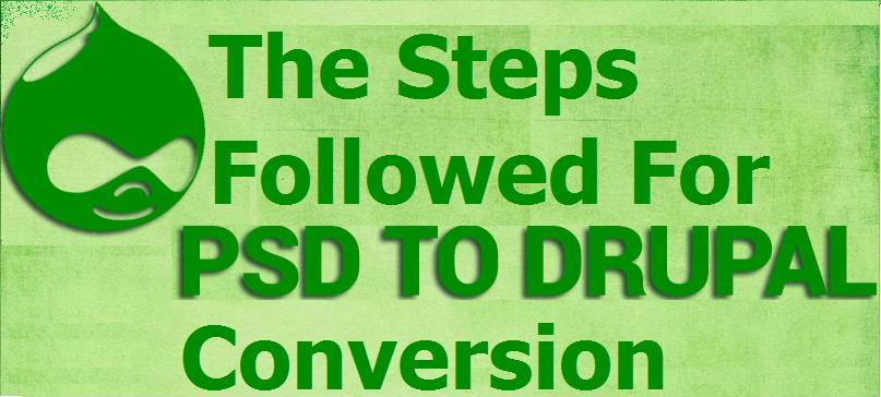 The Steps Followed For PSD To Drupal Conversion - Image 1