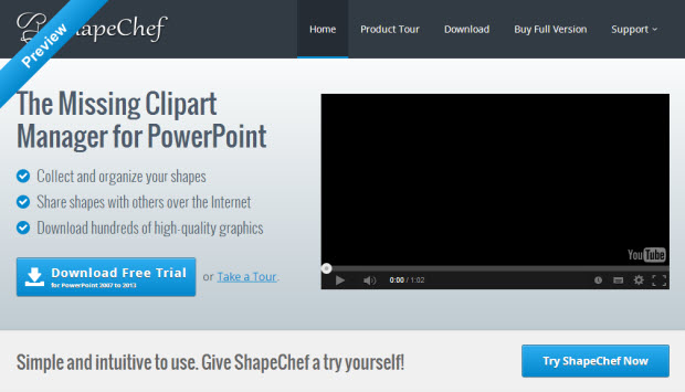 ShapeChef for PowerPoint: It's time you leave your default Clipart tool behind - Image 1
