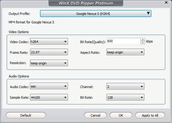 WinX DVD Ripper Platinum Review: Play DVD Movies on PC, Mobile Phones & Tablets - Image 3