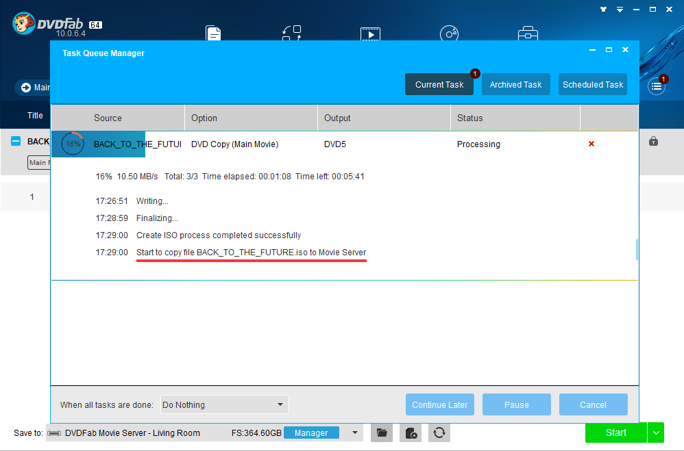 Review the DVDFab Movie Server from Fengtao Software - Image 2