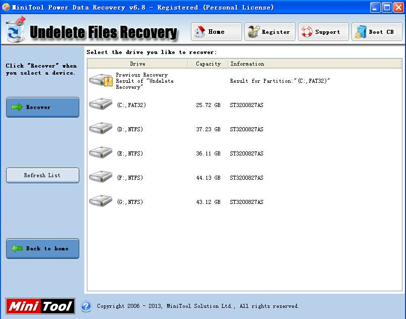 About MiniTool Power Data Recovery 6.8 Review - Image 2