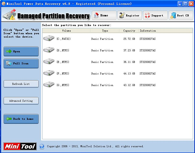 About MiniTool Power Data Recovery 6.8 Review - Image 3