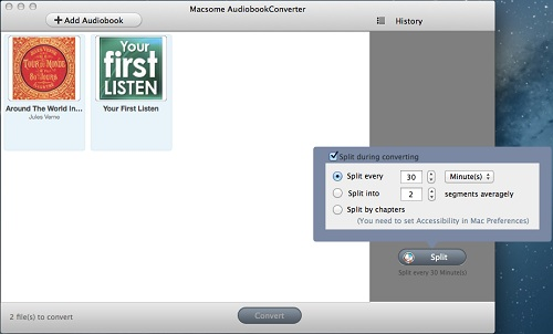 Macsome Audio Book Converter Review - Image 2