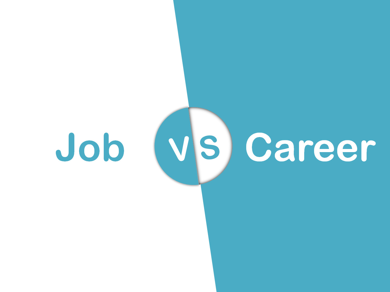 job vs career infographic mytechlogy