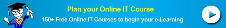 Plan your next Online IT Course